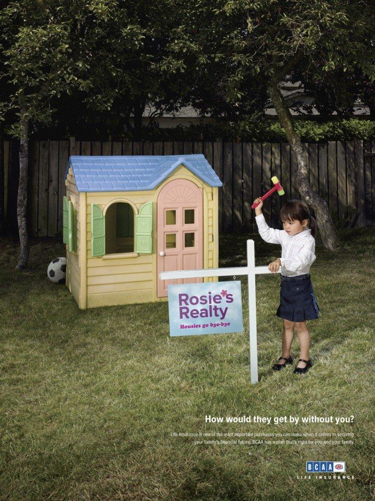 BCAA Life Insurance Come farebbero senza di te Rosie