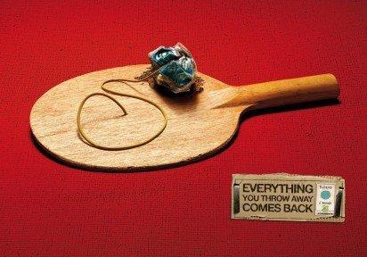 Legambiente PIM Yo-Yo, Boomerang, Racket - racchetta