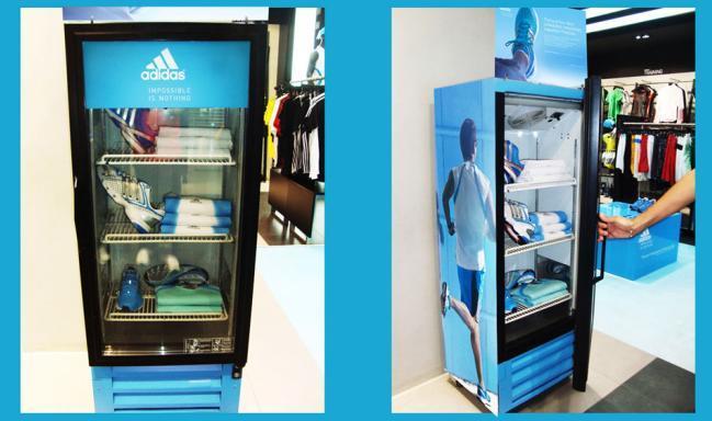 Ambient per lanciare le nuove Gazzelle Adidas