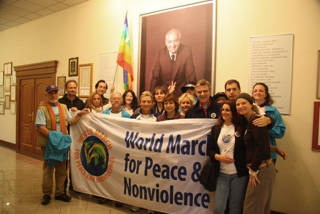 Marcia Mondiale per la Pace e la Nonviolenza in Italia dal 7 al 12 Novembre