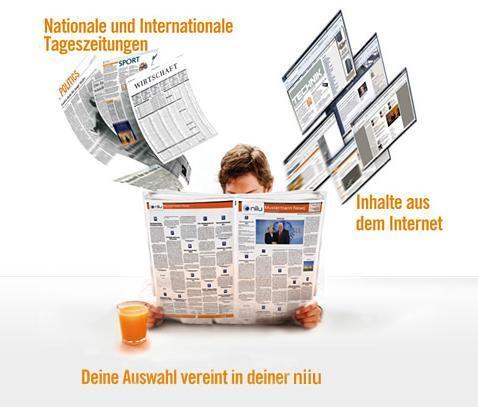 Nasce in Germania il primo giornale europeo personalizzato