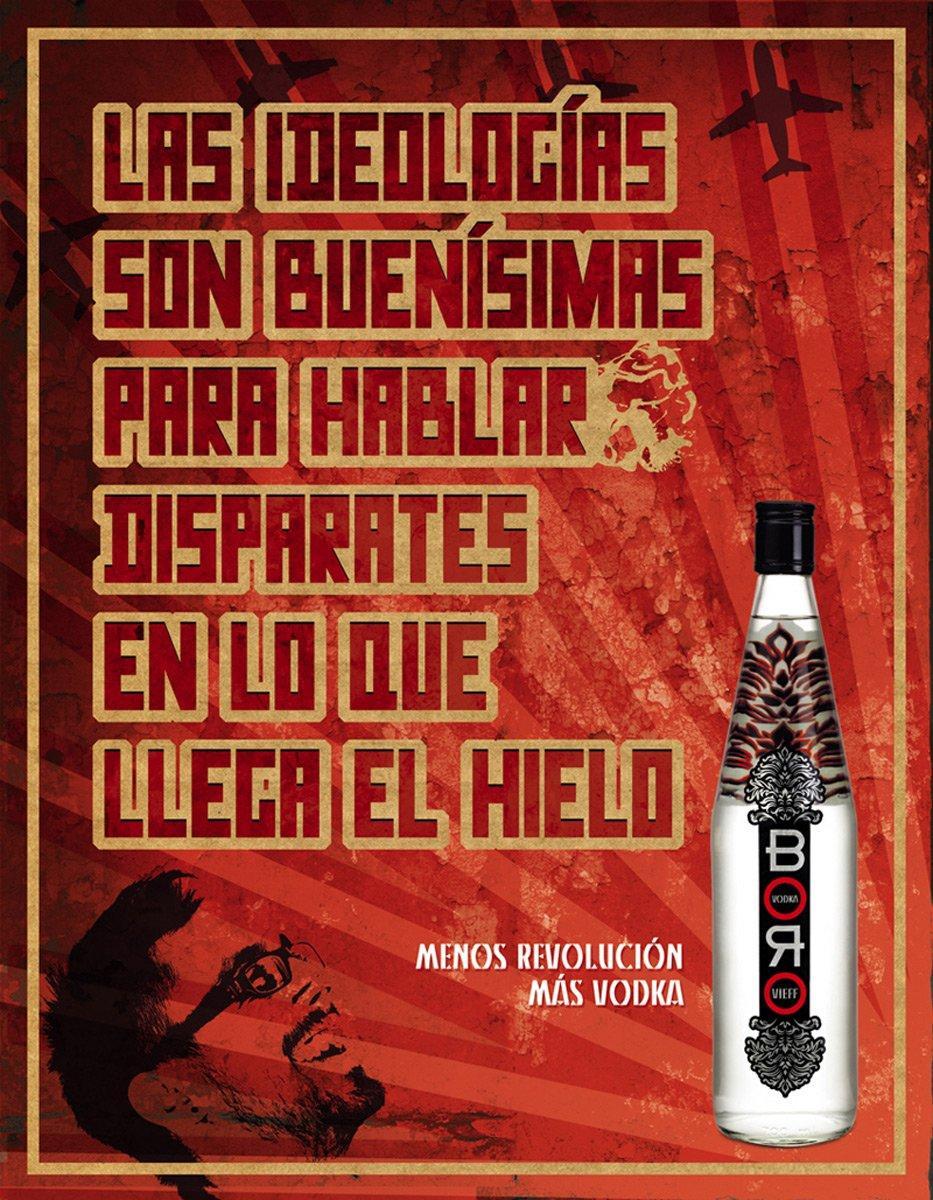 Menos Revolucion Mas vodka