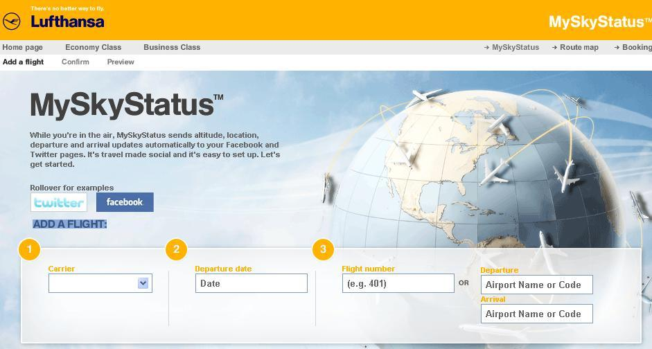 Updates in alta quota? Con Lufthansa si può!