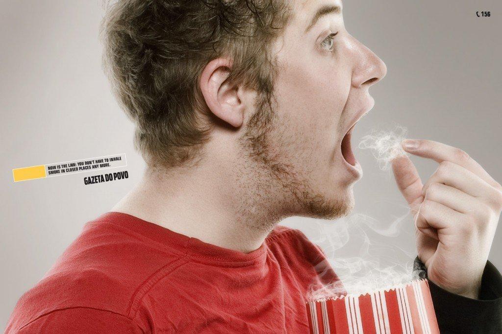 Annunci creativi per la legge antifumo