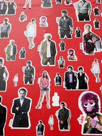 Celebrity Stickers per Hot Cable TV Network!