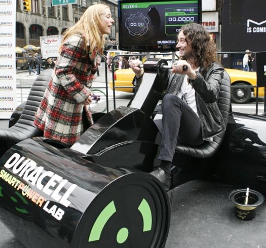 A New York l'energia si genera pedalando grazie a Duracell