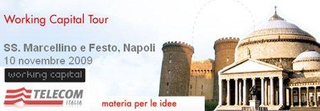 A Napoli il Working Capital Tour by Telecom Italia