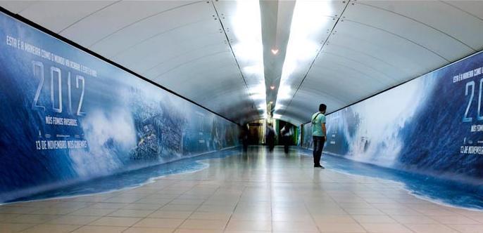 Ambient cinematografico per 2012