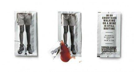 Bustine di Ketchup contro le mine antiuomo 2