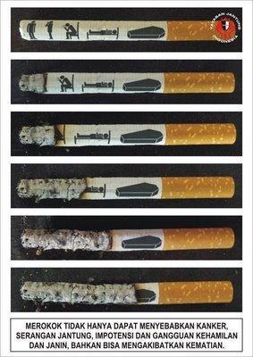 Campagna indonesiana contro il fumo
