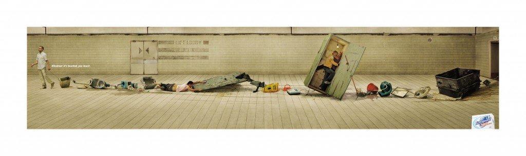 NEW Safeguard Poster - Toilet OL