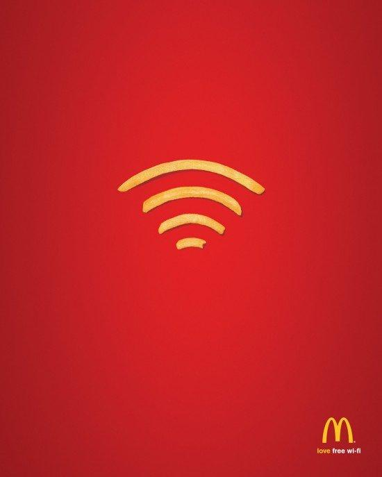 Wi-Fries: il wifi di McDonald's