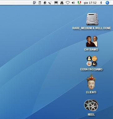 Il desktop Mac si fa sito web!