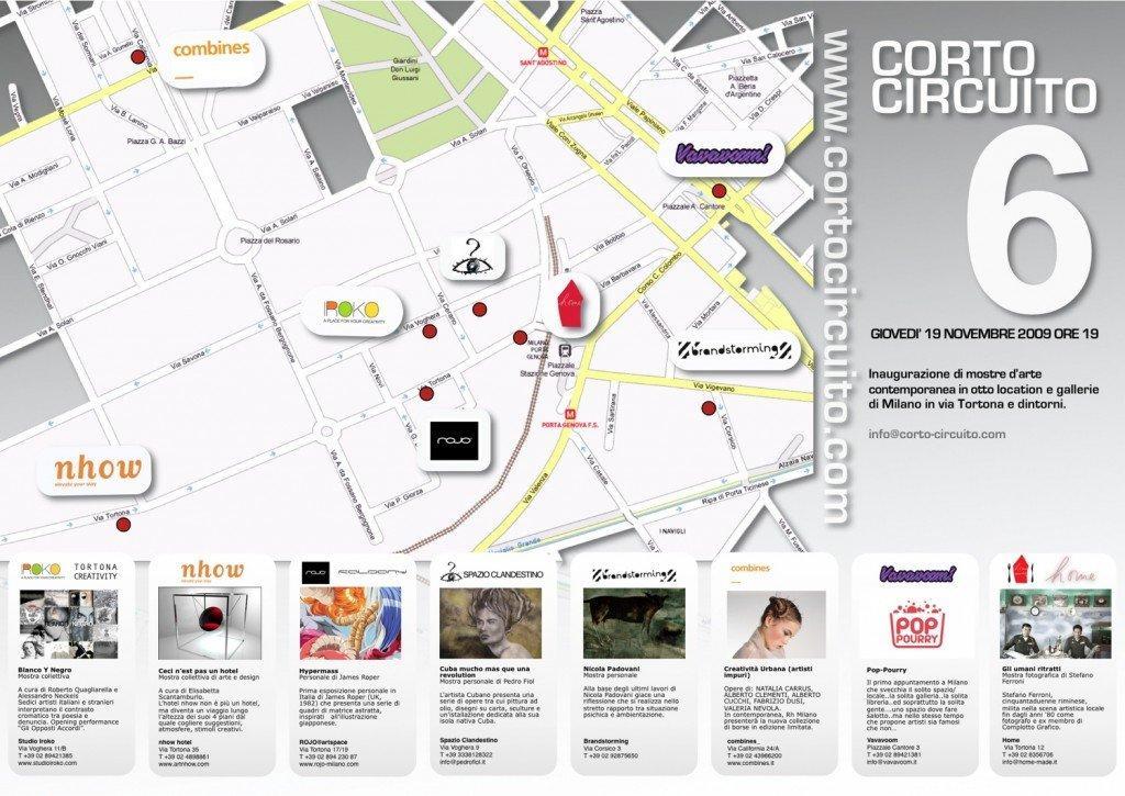Places di Nicola Padovani allo Spazio Brandstorming di Milano