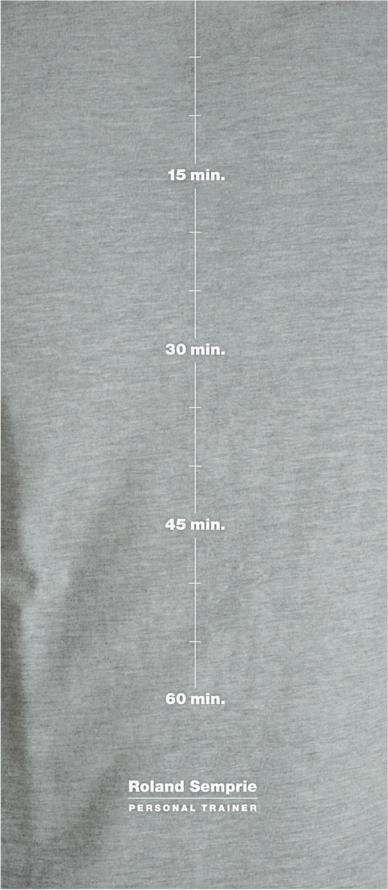 T-Shirt promozionale per il personal trainer