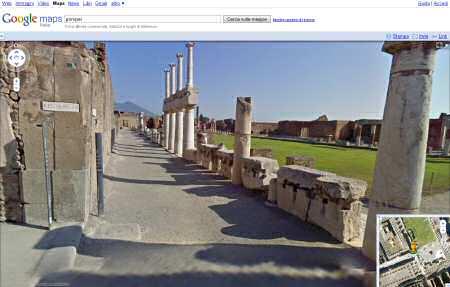 Google Street View presenta: Pompei in 3D