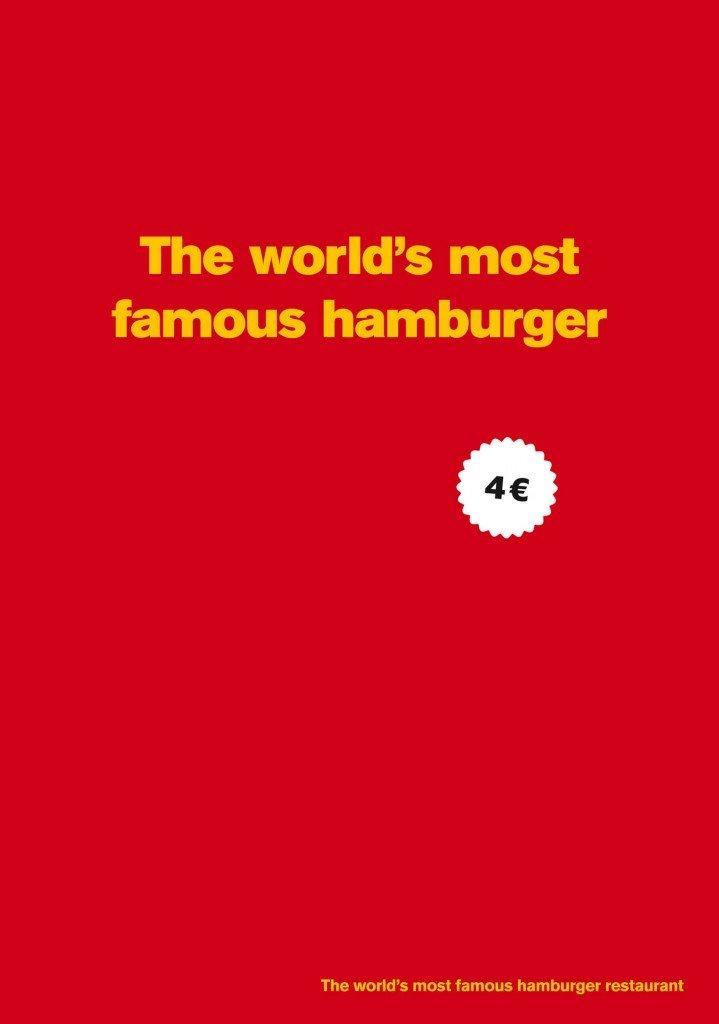 Qual è l'hamburger più famoso del mondo?