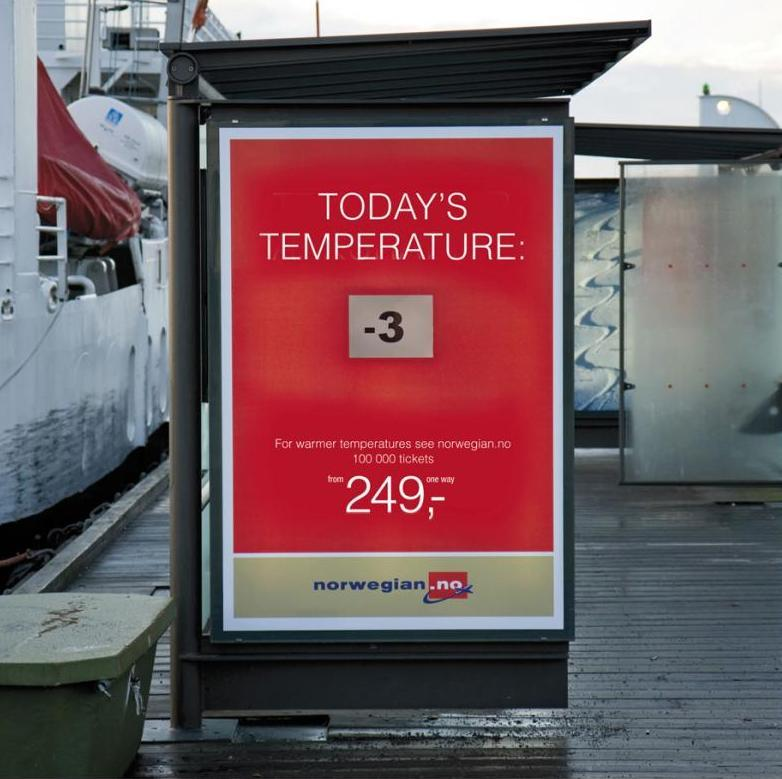 Clima polare? Vola al caldo con Norwegian Air!