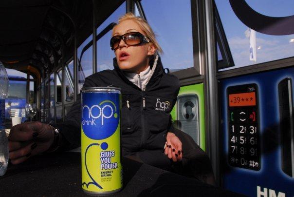 Hop Drink: quando l'energy drink diventa comunicazione