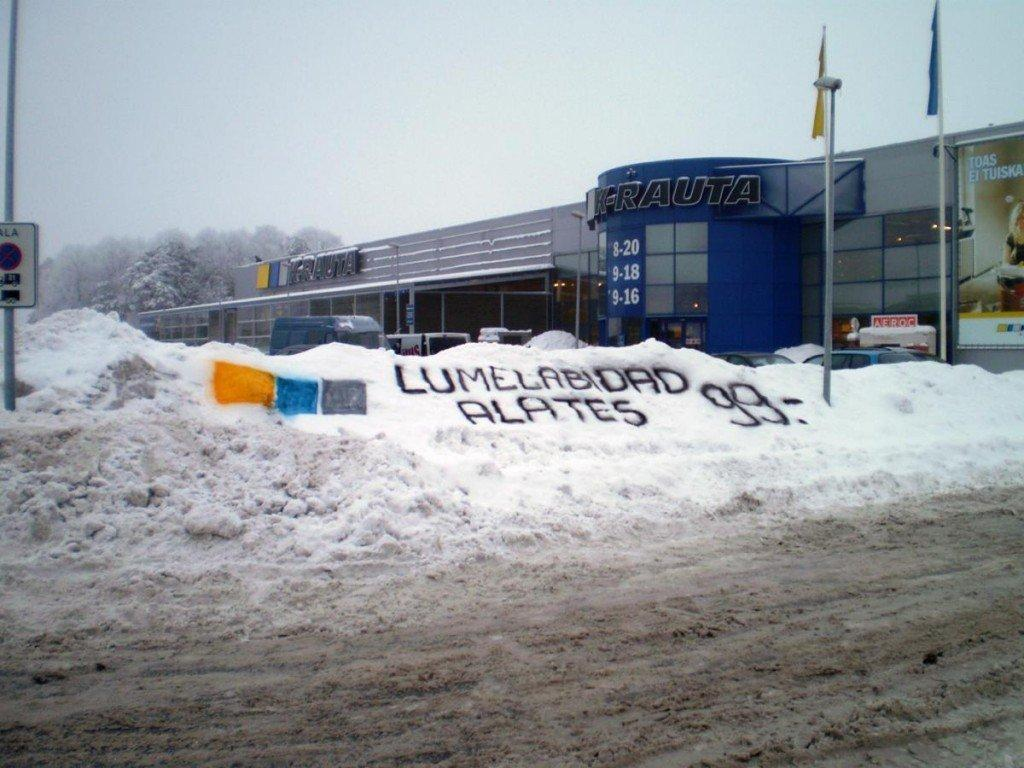 Snow Marketing in Estonia