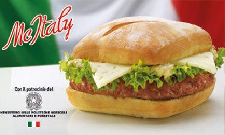 McItaly: McDonald's e Ministero per il (dubbio) rilancio dei prodotti italiani