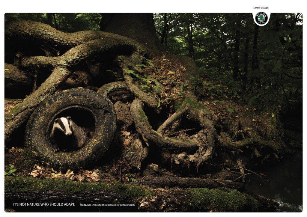 La coscienza ecologista di Skoda