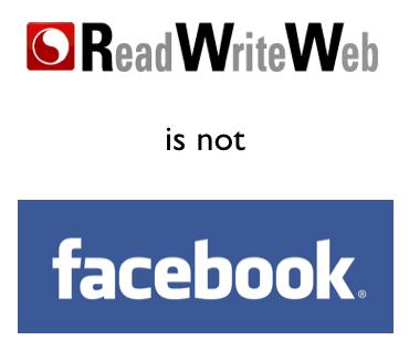 Caso Facebook-ReadWriteWeb: i social network sono proprio per tutti!