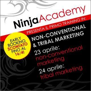 Arriva il corso in Tribal Marketing di Ninja Academy a Milano il 23-24 aprile