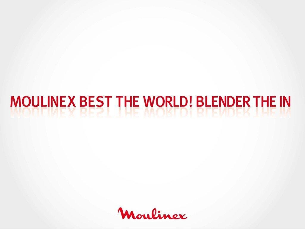 Annunci frullati per Moulinex