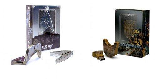 Star Trek e Transformers si trasferiscono su USB