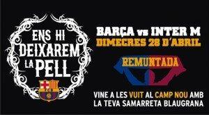 """La """"remuntada"""": il Barcellona punta sul tribal per l'impresa con l'Inter"""