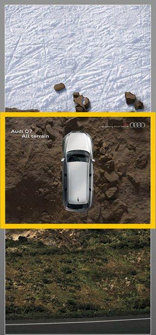 La nuova Audi si adatta ad ogni strada e non solo!