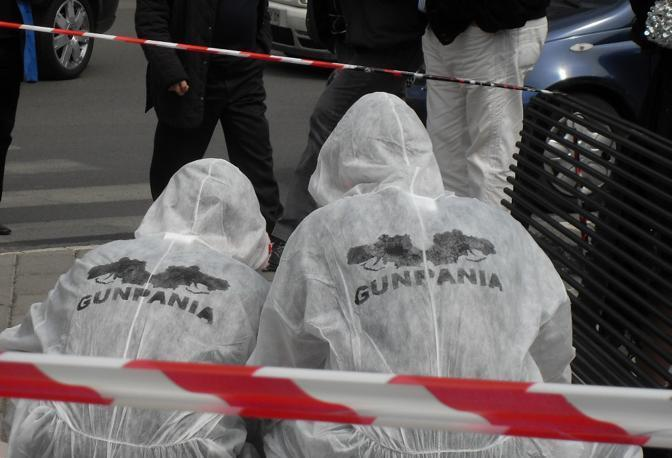 Gunpania: guerrilla campana in stile CSI