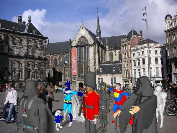 Sabato ad Amsterdam il primo flash mob in Augmented Reality!