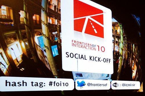 Frontiers of Interaction 2010 il 3 e 4 giugno a Roma