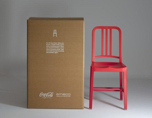 Emeco e Coca Cola presentano 111 Navy Chair
