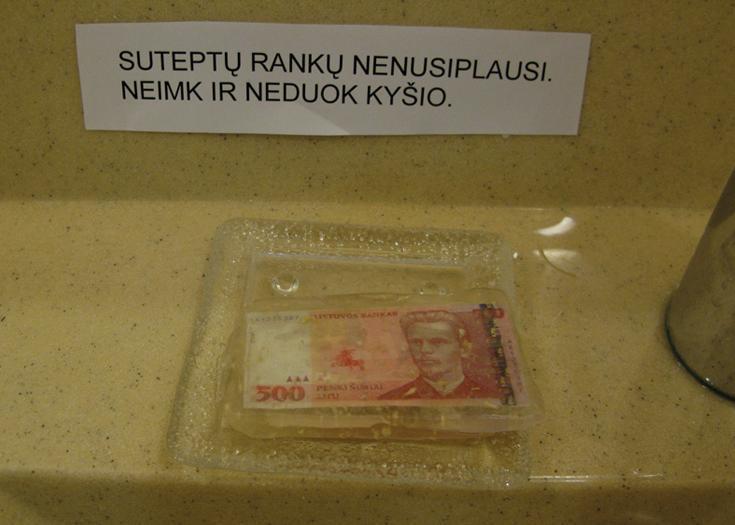 """Un sapone per le """"Mani Pulite"""" lituane"""