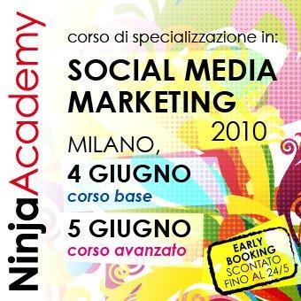Il 4-5 giugno corso di specializzazione in Social Media Marketing (base e avanzato)