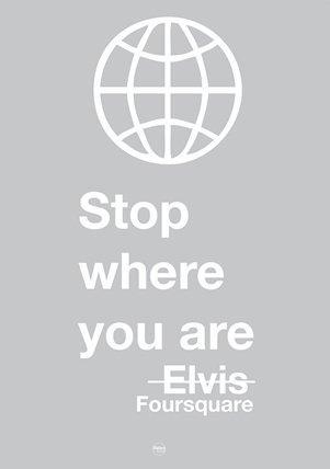 I social network spiegati da Elvis: Foursquare