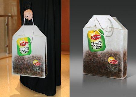 Lipton e la Green Tea Bag