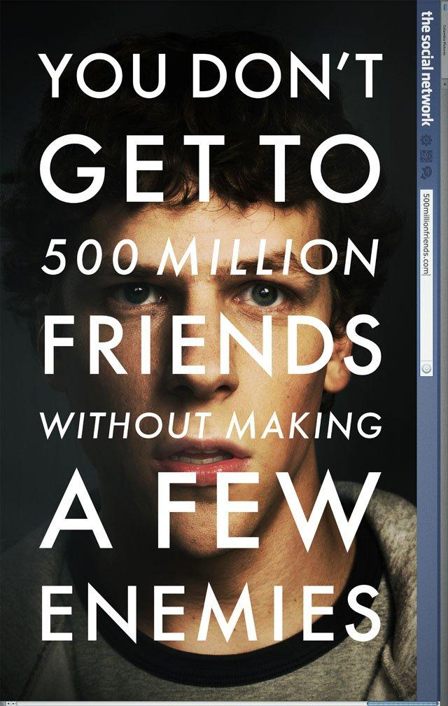 """Ecco il primo poster di """"The Social Network"""""""
