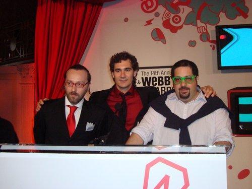 Webby Awards 2010: la cerimonia di Gala raccontata dai Ninja a New York