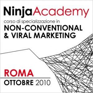 Ad ottobre a Roma arriva il primo corso italiano in Non-Conventional & Viral Marketing con Ninja Marketing e The Viral Factory