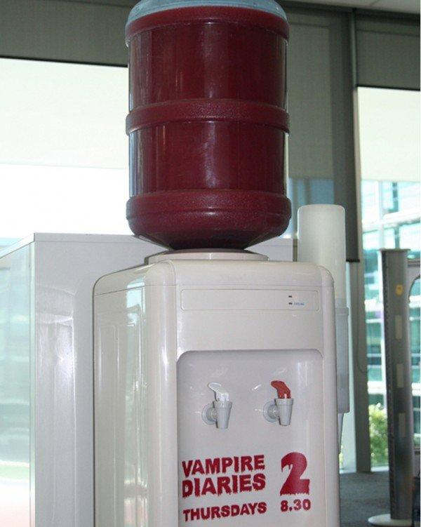 Un distributore di sangue per l'Ambient di The Vampire Diaries