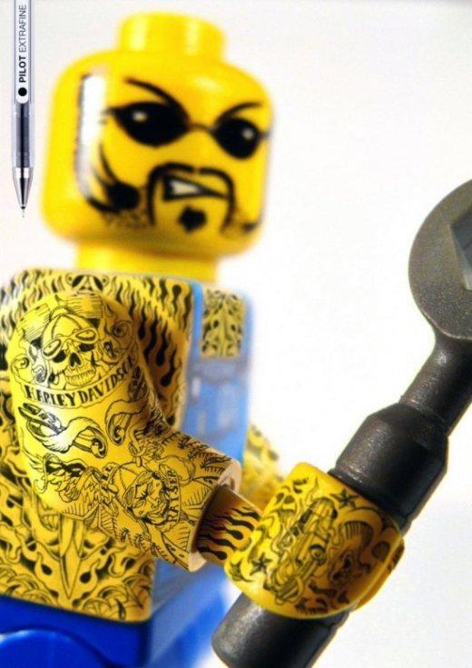 Lego ribelli per la Pilot extrafine