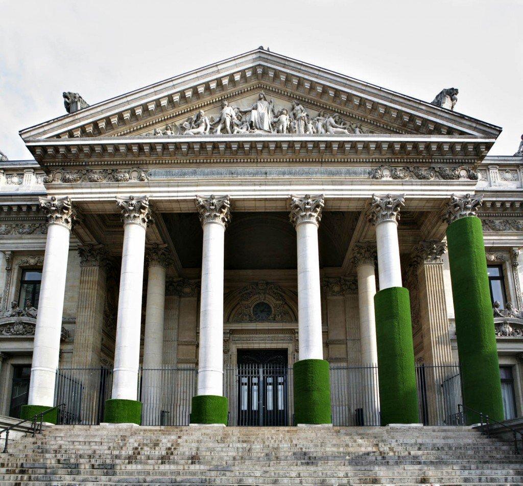 Histogram: arte ecologica al Palazzo della Borsa di Bruxelles