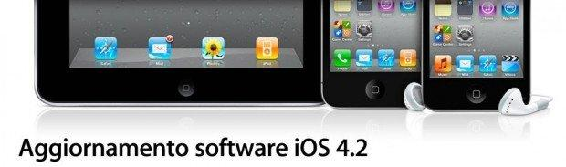 Apple iOS 4.2 disponibile in download dalle 19! [NEW RELEASE]