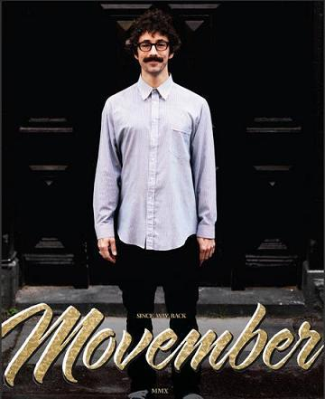 MOVEMBER: quando i baffi fanno la differenza!