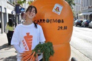Carrotmob: social activism per la sostenibilità [SUSTAINABILITY]