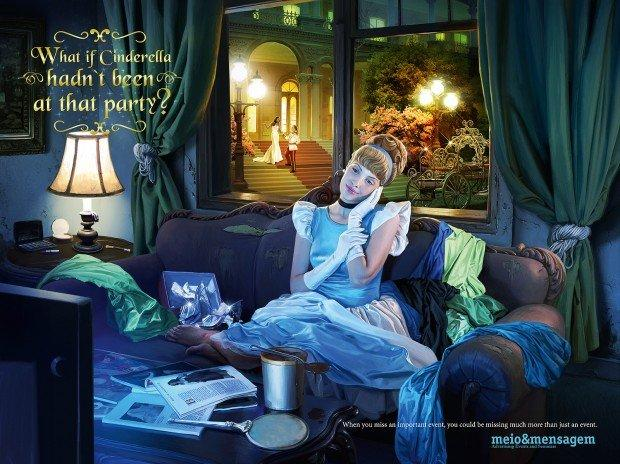 Carpe diem, Cenerentola! [ADVERTISING]